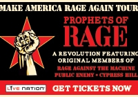 Win tickets to see Prophets of Rage on the MAKE AMERICA RAGE AGAIN Tour!