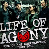 Joey Z of LIFE OF AGONY guests on the show this week!